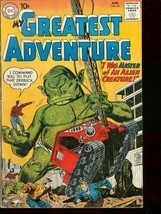 MY GREATEST ADVENTURE #46 '60 CONSTRUCTION MONSTER CVR VG/FN - $50.44