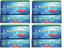 GREASELESS VAPOR CREAM COUGH SUPPRESSANT LOT OF 4 BY DR. SHEFFIELD'S 1 O... - $8.90