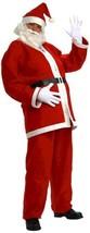 Forum Novelties Men's standard Simply Santa Costume, As Shown, Standard - $24.91