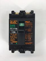 Fuji Electric EA32 10A 2P Auto Breaker  - $43.65