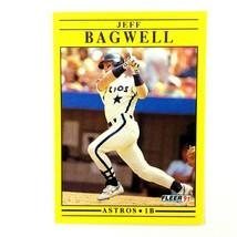 Jeff Bagwell 1991 Fleer Update Rookie Card #U-87 MLB HOF Houston Astros - $2.92
