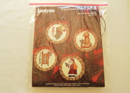 Free w/ $10 Purchase Janlynn Counted Cross Stitch Christmas Wreath Ornaments Kit - $0.00