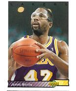 Basketball Card- James Worthy 1993 Upper Deck #156 - $1.25