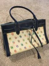 Authentic Dooney Bourke Handbag - $93.49