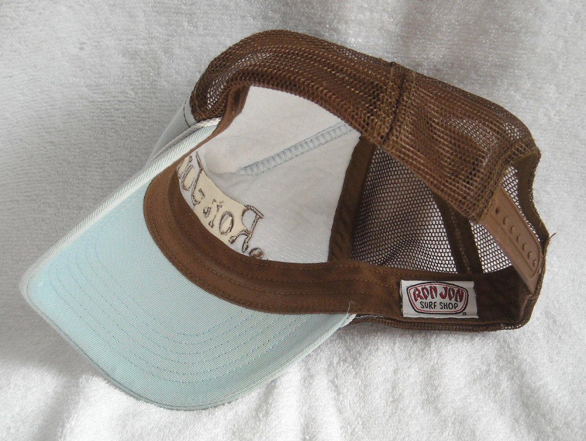 c9c9d6c03349 Adult Mens Womens Ron Jon Surf Shop Trucker Hat & Clearwater Beach sticker