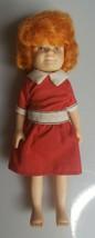 Vintage 1982 Knickerbocker Little Orphan Annie Toy Doll Figure Dress - $6.75