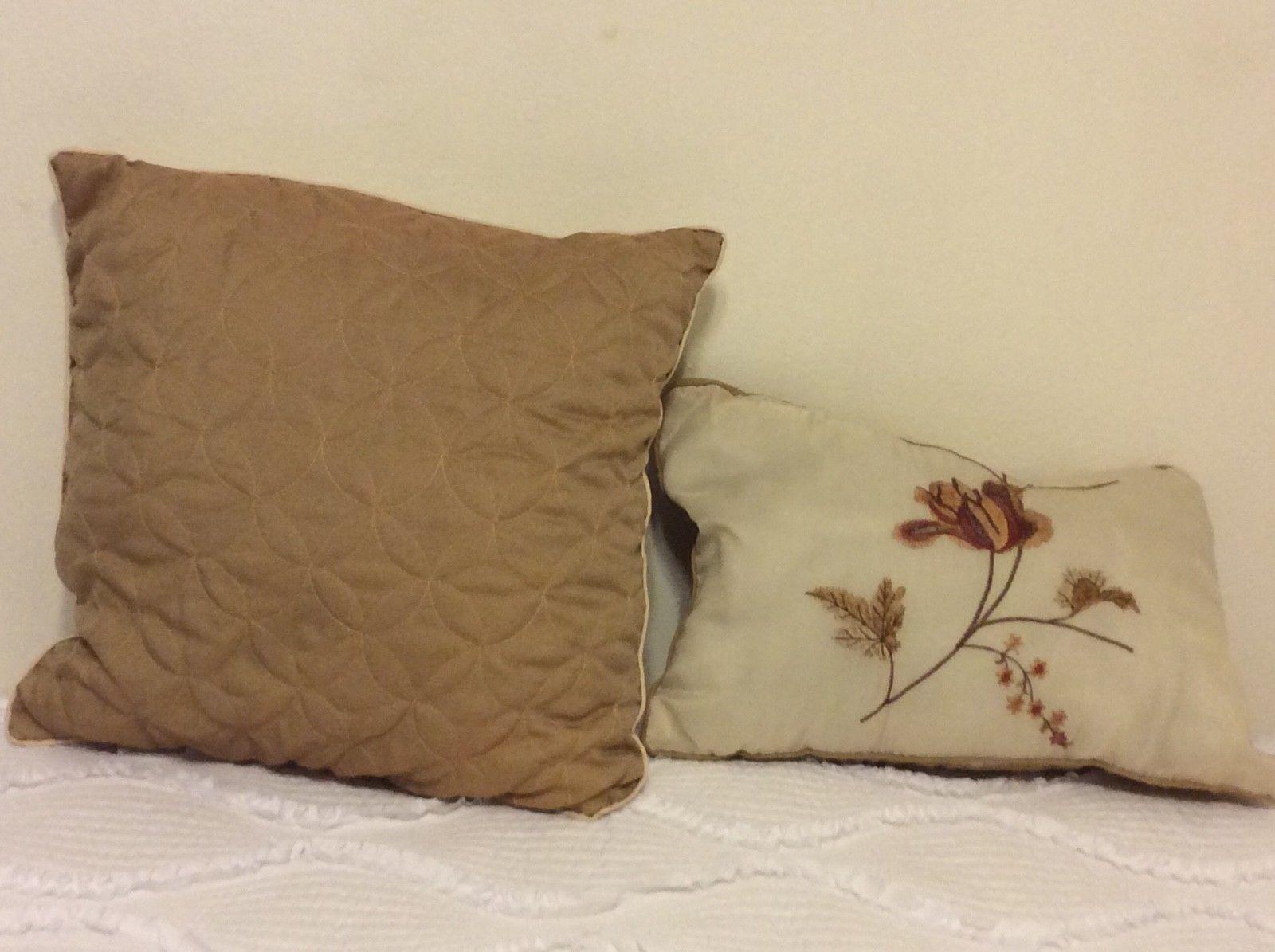 Chaps Home Mandarin Garden Euro Pillow Sham Blue White New