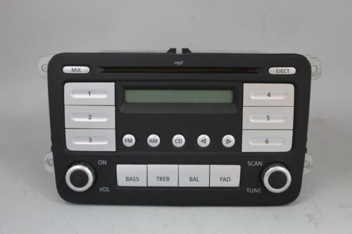 Primary image for 07 08 09 VOLKSWAGEN TIGUAN  AM/FM RADIO CD PLAYER RECEIVER 28159420 OEM