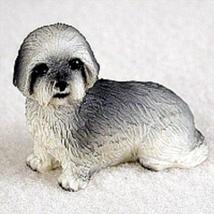 Lhasa Apso Gray w/Sport Cut Tiny One Figurine - $9.99