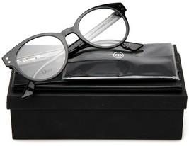 New Christian Dior CD3 807 Black Eyeglasses Frame 49-20-145mm B46mm Italy - $181.29