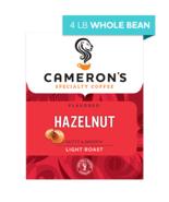 CAMERON'S WHOLE BEAN HAZELNUT 4LB PACKAGE - $44.46