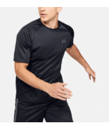 Under Armour Mens UA HeatGear Velocity Training T-Shirt 1327965-001 Blac... - $14.98