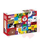 LINE Friends Jigsaw Puzzle Mosaic 1014 pcs Character Teens Bromide Gift ... - $40.18
