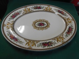 "Magnificent WEDGWOOD ""Columbia""Bone China-England #W595....Large PLATTER - $103.66"