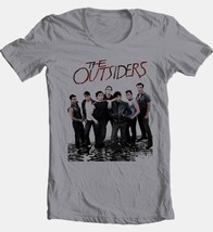 The Outsiders T-shirt 1980s retro style movie 100% cotton grey tee Free Shipping image 2