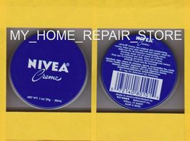 FREE S&H! US SELLER! NIVEA CREME SKIN MOISTURIZER TIN PURSE TRAVEL SIZE 1 OZ image 9