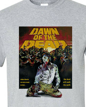 Dawn of the Dead 1978 t-shirt George A Romero Cult Horror zombie graphic tee image 2