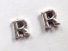 """The Letter """"R"""" Stud Earrings 925 Sterling Silver Corona Sun Jewelry r - $3.47"""