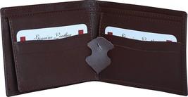 Blocking Cowhide TAN Color Genuine Leather Wallet for Men - $24.54