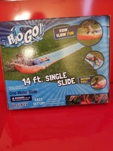 H20 GO Inflatable Single Water Slide Kids Summer Outdoor Toy - New in Box - $19.75