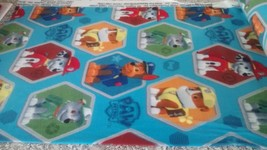 New Blue Paw Patrol Fleece Fabric by the yard - Chase, Marshall Rocky, & Rubble - $10.89