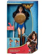 DC Comics Wonder Woman Shield Block Doll 12 Inches Battle Ready Action F... - $23.01