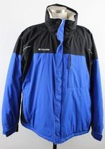 MINT Columbia Omni-Tech Waterproof Insulated Ski Jacket MENS XL Blue Black - $59.99