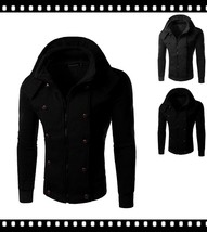 Fashion Patchwork Us SizeSpring Autumn New Arrival Casual Men Jacket And... - $68.14