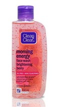 Clean Clear Morning Energy Face Wash Brightening Berry 100ml, - $7.81