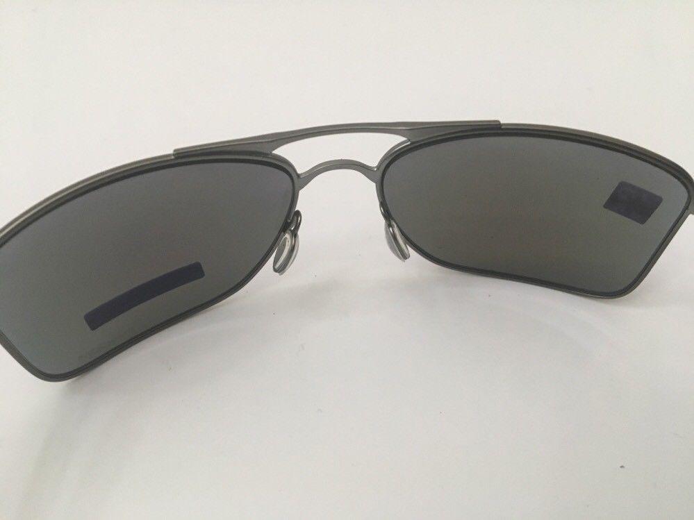 16009ea5d5 New Oakley Sunglasses Gauge 8 M Gunmetal w Prizm Sapphire Polarized 62-17-