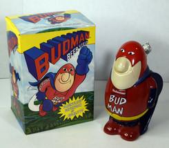 """1989 Genuine Budman Budweiser 8"""" Beer Stein Superhero Collector's Edition  - $47.49"""
