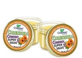 Calendula Comfrey Super Salve,Balm Soothes Baby Bottoms, Eczema, Hand Cr... - $35.93