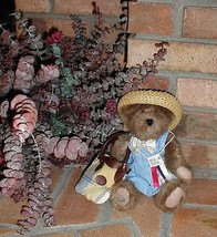 Longaberger Boyds Bear  2001 Honey Bee Bear New With Tags Authentic - $32.62