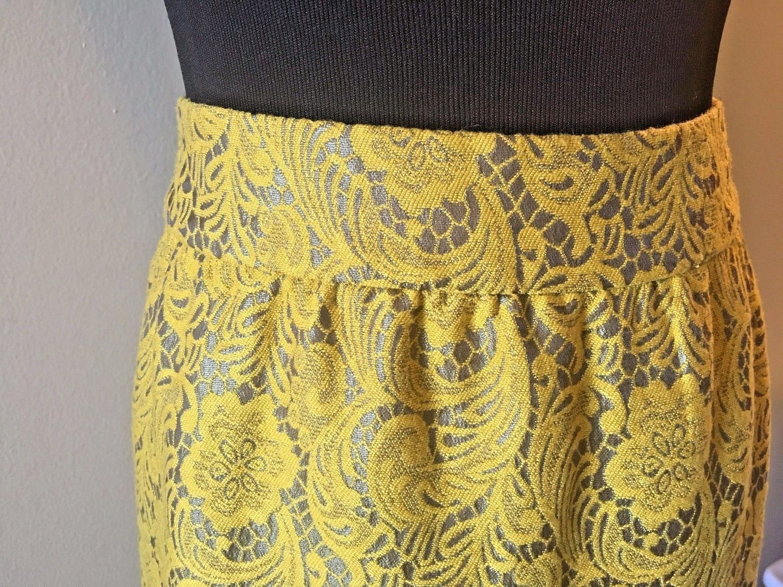 1b93704c9a Banana Republic Yellow and Gray Lace Floral and 50 similar items