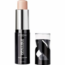 L'Oreal Paris Infallible Longwear Highlighter Shaping Stick, (41) Slay in Rose - $11.87