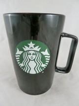 2020 Starbucks 15 oz Black Coffee Mug cup with Siren Glossy - $16.82