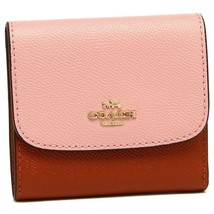 Coach F26458 Colorblock Small Crossgrain Leather Wallet - $39.99