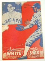 1949 Chicago White Sox Scorecard v Cleveland Indians Scored Aug.19 - $29.65