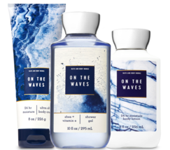 Bath & Body Works On The Vagues Trinity Ensemble Cadeau - $36.20