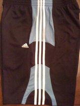 adidas Men's Fastbreak Short (Black/Columbia Blue, X-Large) - $24.50