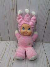 I4 Goldberger Doll Babys First Little Tikka Pink Plush Vinyl Jester Hat Soft Toy - $24.74