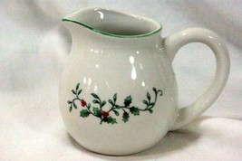 Royal Seasons Holly Vine 10 oz Creamer Pattern RN4 - $9.00