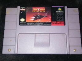 Turn and Burn: No-Fly Zone (Super Nintendo Entertainment System, 1994) - $3.96