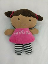 """Carters Child of Mine My First Doll Rattle 7"""" Stuffed Animal Toy - $6.26"""