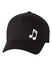 MUSIC NOTE DJ LOVE  FlexFit HAT CURVED or FLAT BILL ***FREE SHIPPING in ... - $19.99