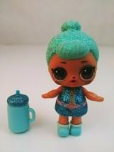 LOL Surprise Doll Aqua Glitter Girl Big Sister With Accessories - $12.59