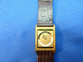 TILDEN THURBER SQUARE SWISS QUARTZ WATCH FOR RESTORATION OR PARTS - $91.92