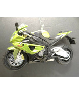 Green BMW S1000RR Motorcycle Christmas Tree Ornament - $23.74