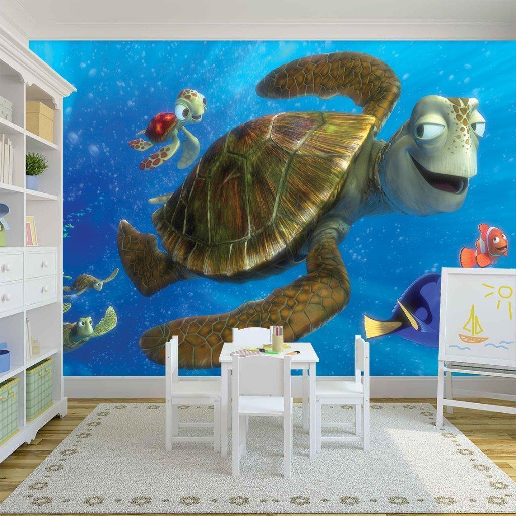 Finding Dory Nemo Photo Wallpaper Woven and similar items