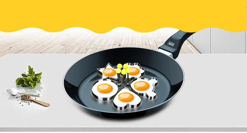 Stainless Steel Egg Shapes Mould for Perfect Egg